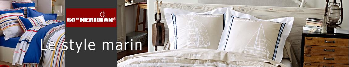 linge de lit 60th meridian la boutique nova linge. Black Bedroom Furniture Sets. Home Design Ideas