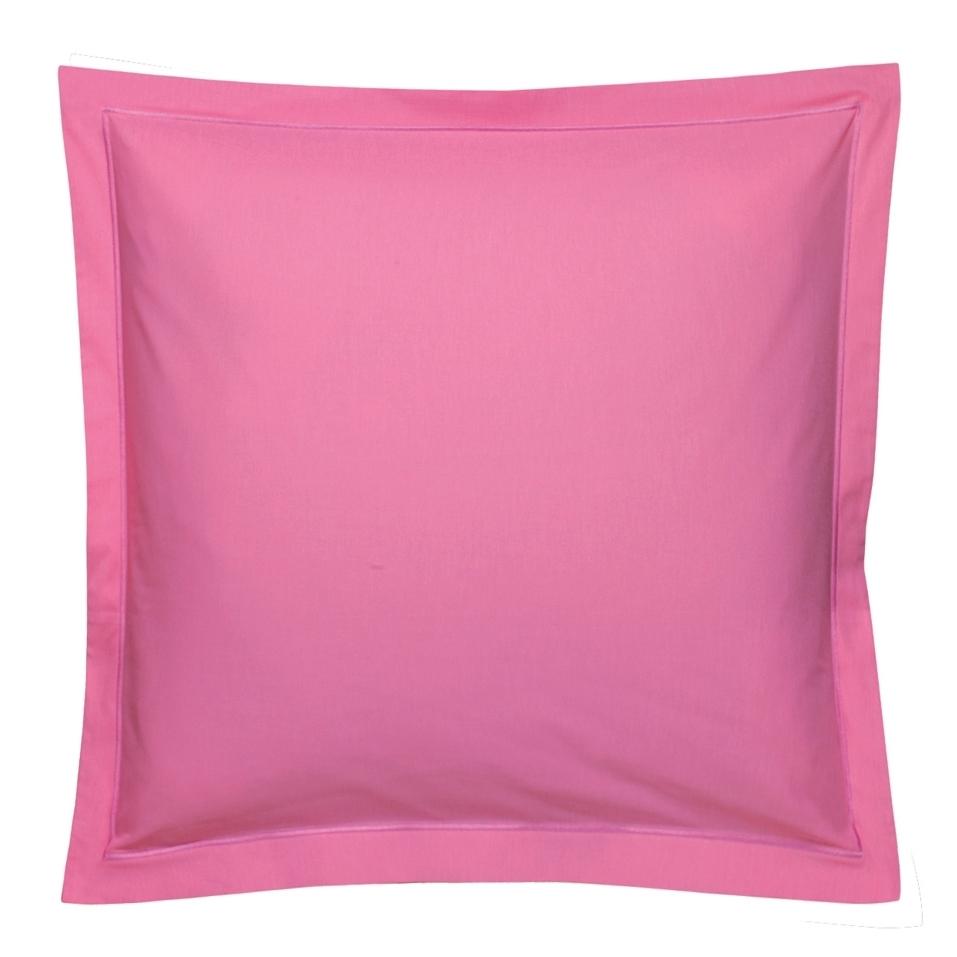 taie de traversin 90x140cm coton uni framboise par blanc des vosges la boutique novalinge. Black Bedroom Furniture Sets. Home Design Ideas