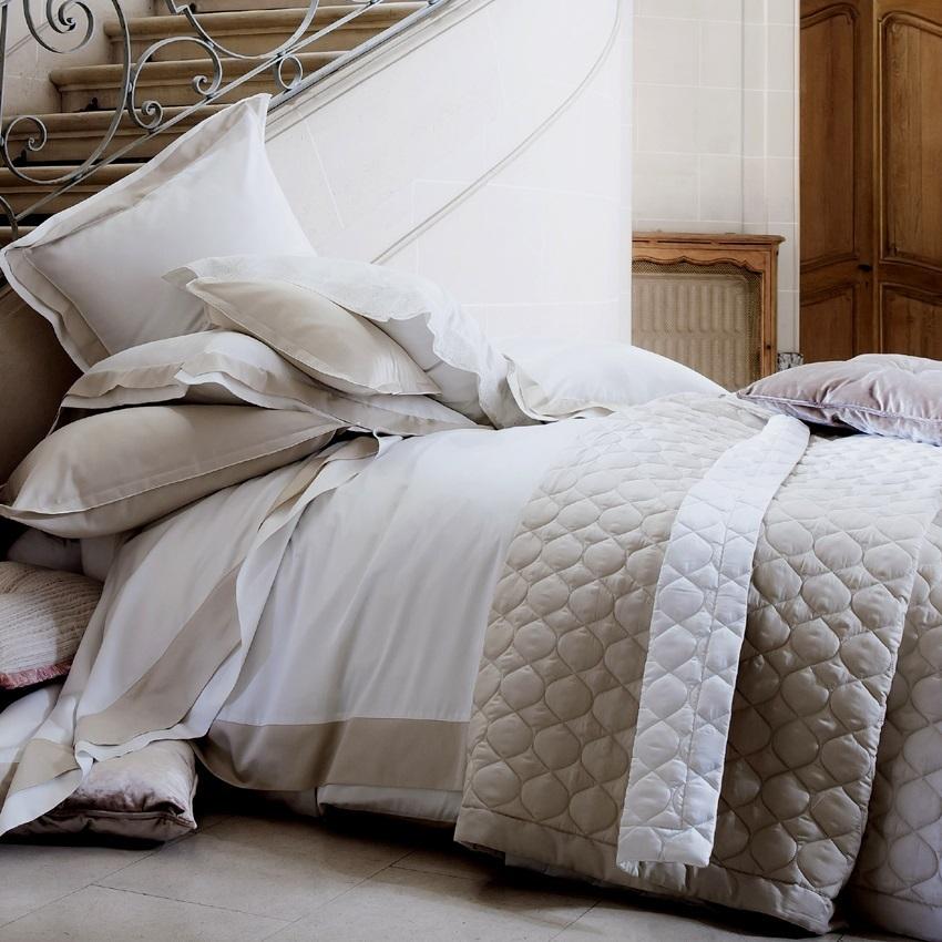 Promo linge de lit grandes marques id e inspirante pour la conception de la maison for Grande marque de linge de maison