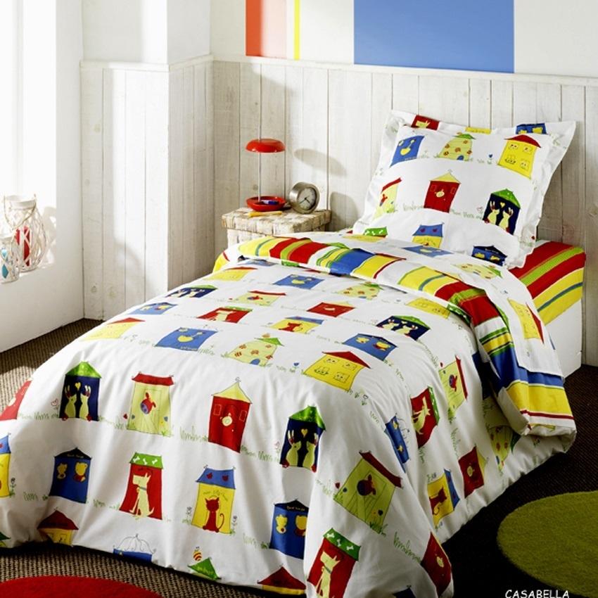drap housse 90x190cm casabella par bidibulle la boutique novalinge. Black Bedroom Furniture Sets. Home Design Ideas