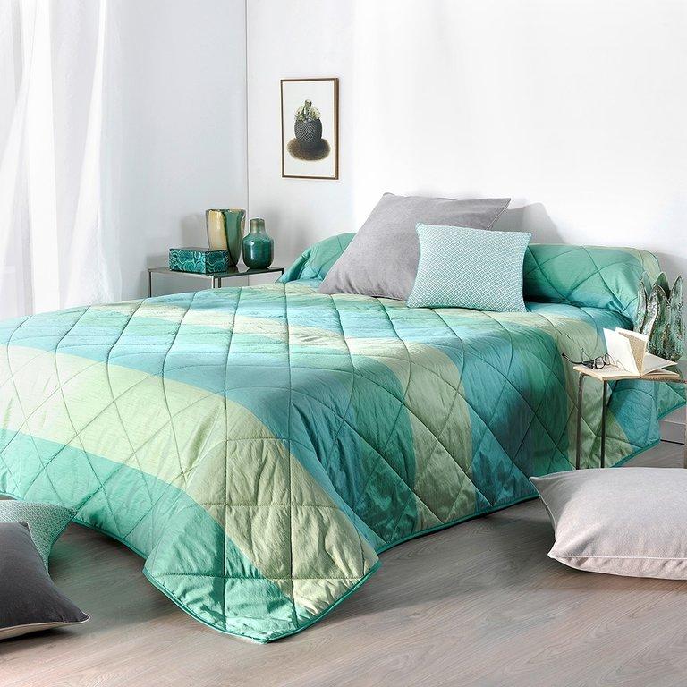 bergame taupe 28 par linder jet de lit 180x240cm la boutique novalinge. Black Bedroom Furniture Sets. Home Design Ideas