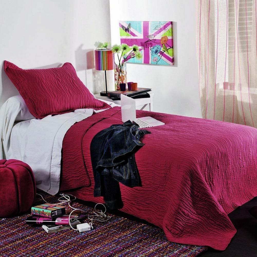 mikado taupe 28 par linder jet de lit 250x260cm 2 taies la boutique novalinge. Black Bedroom Furniture Sets. Home Design Ideas