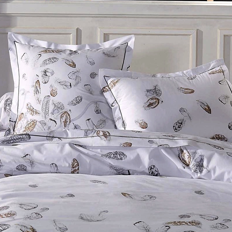 housse de couette 260x240cm plumes par tradilinge la boutique novalinge. Black Bedroom Furniture Sets. Home Design Ideas