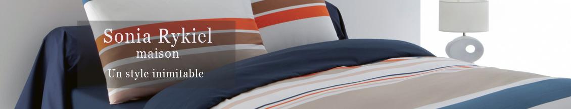 les draps de plage sonia rykiel maison la boutique novalinge. Black Bedroom Furniture Sets. Home Design Ideas