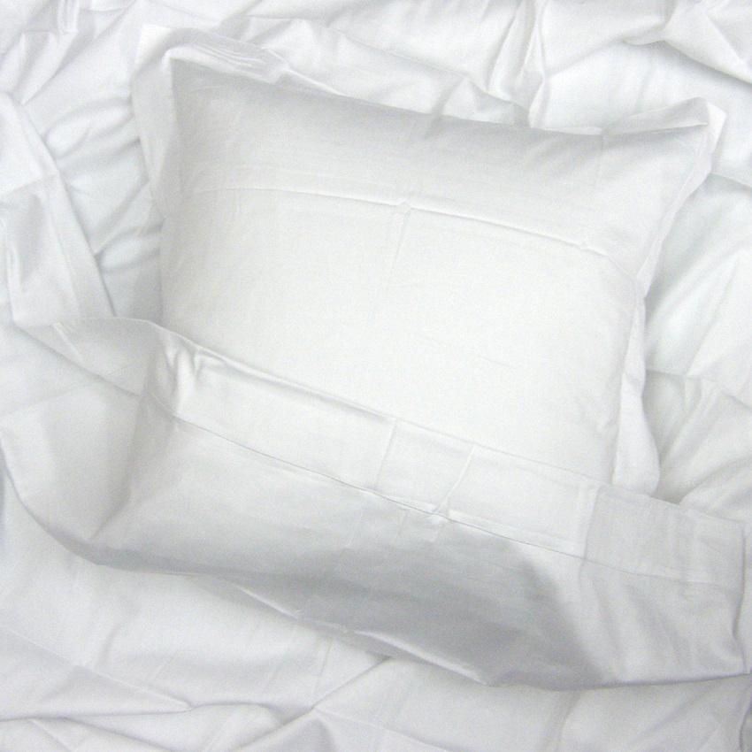 blanc satin de coton uni blanc des vosges la boutique novalinge. Black Bedroom Furniture Sets. Home Design Ideas