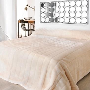 Gris EMMEVI Couvre-lit nid dabeille uni Lavable /à Laver lit Simple Lit diff/érents Coloris 1 Piazza 170X260cm
