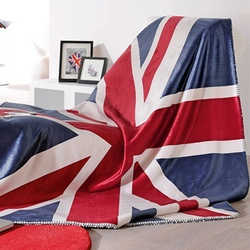 Union Jack par Linder - Plaid 130x150cm