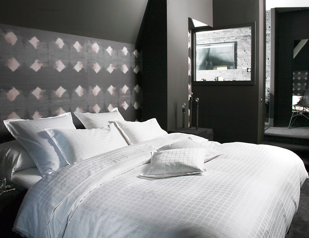 palace blanc par blanc des vosges la boutique novalinge. Black Bedroom Furniture Sets. Home Design Ideas