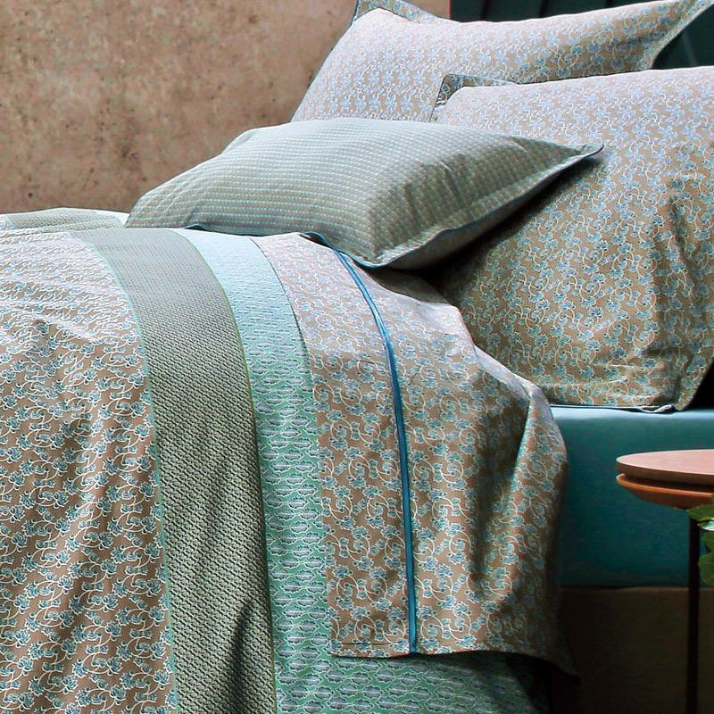 meli melo meraude par blanc des vosges la boutique novalinge. Black Bedroom Furniture Sets. Home Design Ideas