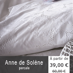 linge de lit fantaisie anne de sol ne la boutique novalinge. Black Bedroom Furniture Sets. Home Design Ideas