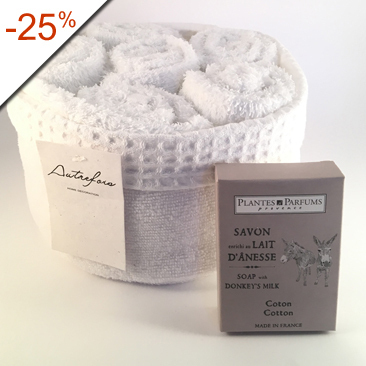 Lot Douceur - Parfum COTON