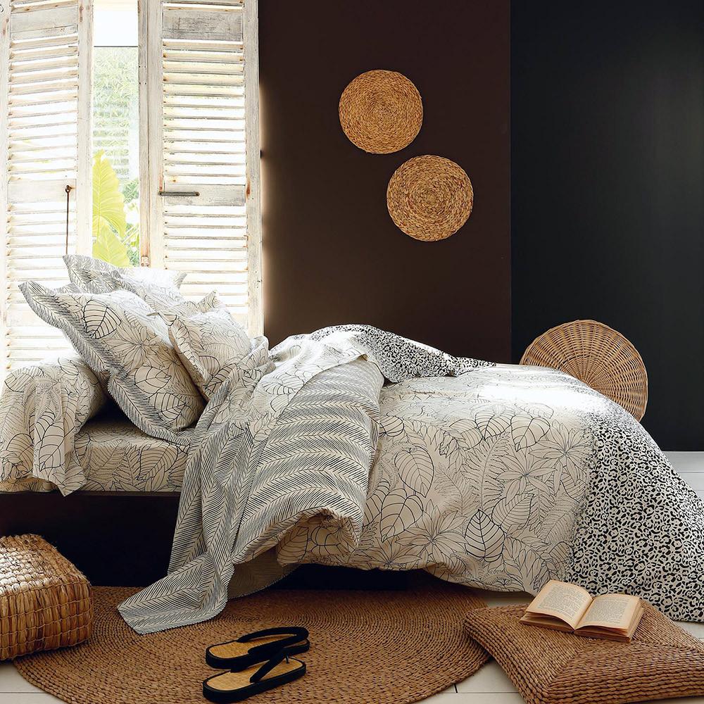 housse de couette 260x240cm natura par tradilinge la boutique novalinge. Black Bedroom Furniture Sets. Home Design Ideas