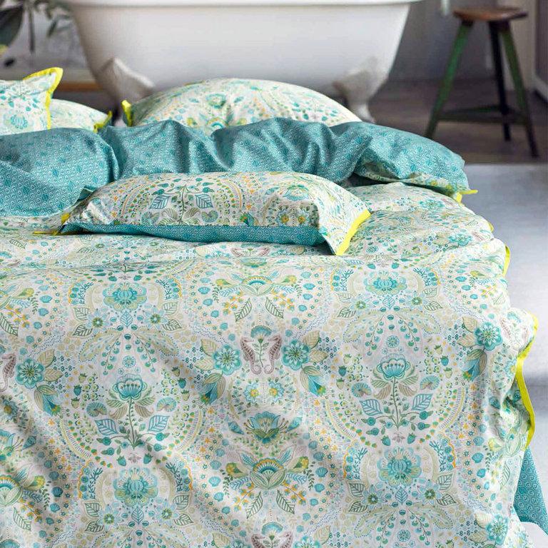 housse de couette 260x240cm sea stitch blue par pip studio la boutique novalinge. Black Bedroom Furniture Sets. Home Design Ideas