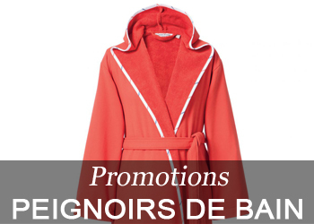 Promotions peignoirs
