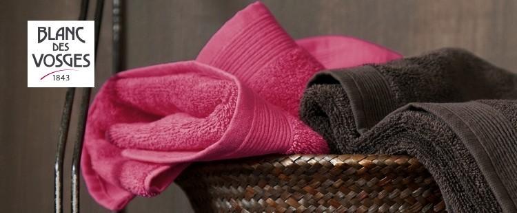 blanc des vosges linge de toilette uni la boutique nova linge. Black Bedroom Furniture Sets. Home Design Ideas