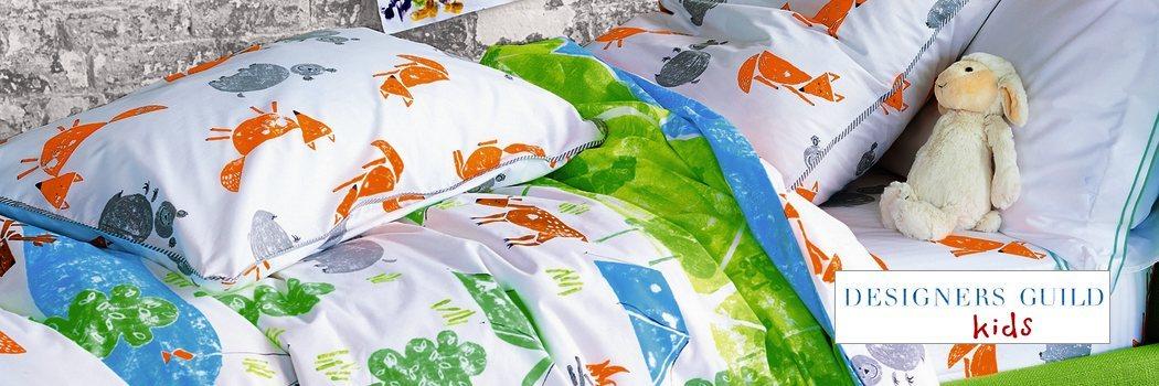 linge de lit designers guild kids la boutique nova linge. Black Bedroom Furniture Sets. Home Design Ideas